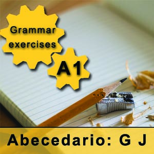 pronuntiation of g in Spanish Spanish alphabet grammar exercises