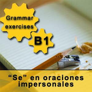 """""""Se"""" en oraciones impersonales en español"""