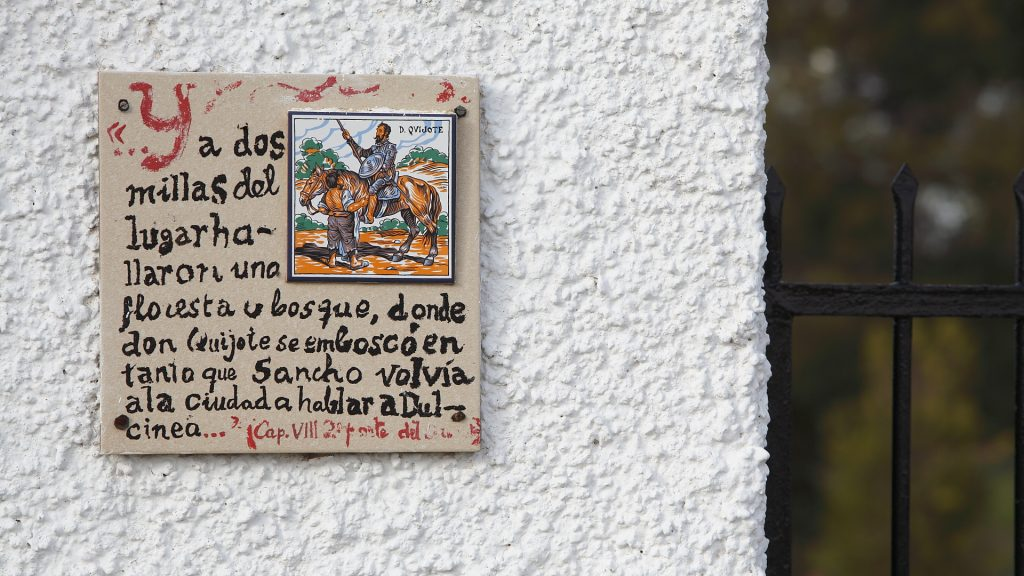 Placa a la entrada de una casa manchega the spanish forum - Entraditas de casa ...