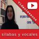 sílabas y vocales