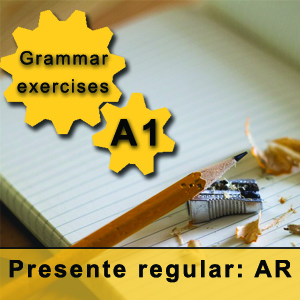 Spanish regular present tense -ar