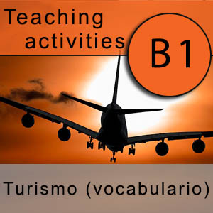 spanish vocabulary on tourism teaching activities to learn Spanish