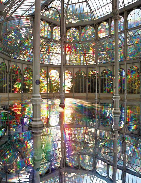 palacio de cristal de Madrid
