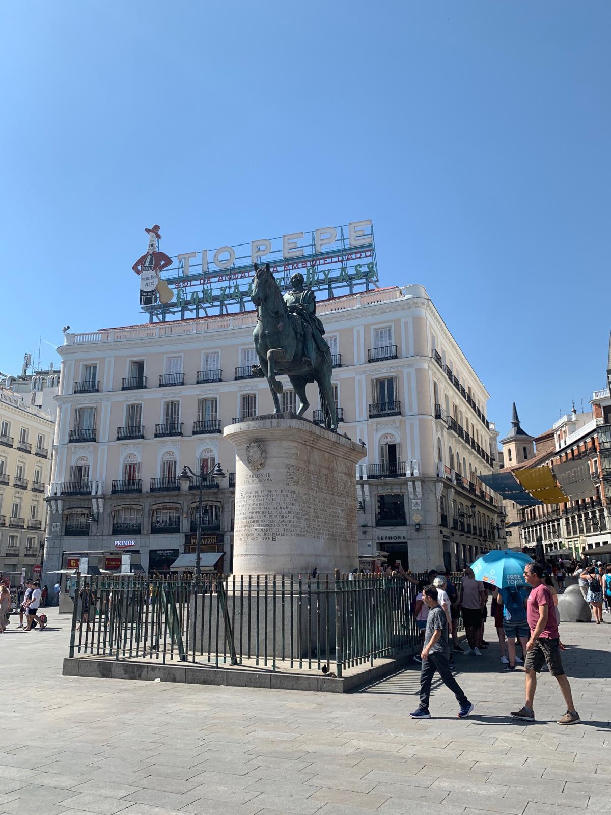 "MADRID BAJO LA ""OLA DE CALOR"""