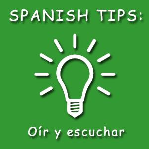 Diferencia entre oír y escuchar en español
