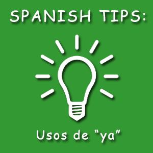 Significado de ya en español
