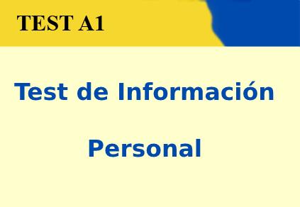 Test de Información Personal