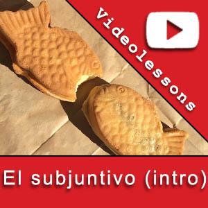 Videolessons 40 el subjuntivo intro