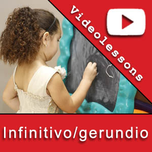 use of the gerund and infinitive in Spanish gerundio e infinitivo en español
